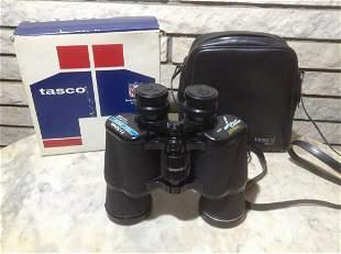 Vintage Tasco Binoculars with case in original Box