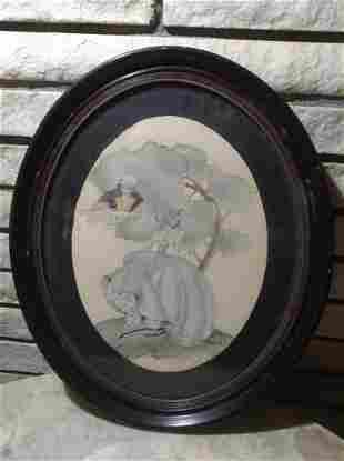 Victorian Era Signed by the Artist Maude Eggemeyer