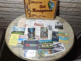 Large amount of 1950s Niagara Falls Post Cards,