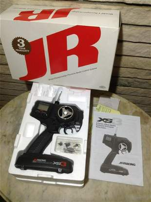 JR Racing X3 3 Channel Computer Racing System in the
