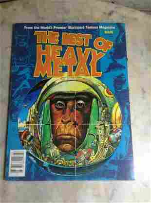 1977-1979 The Best of Heavy Metal Adult Illustrated
