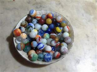 Bowl full of very early marbles