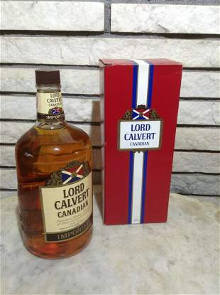 Lord Calvert Canadian Whiskey in the Box 1.75L