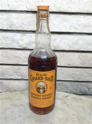 Unbroken Tax Stamp Old Grand-dad Kentucky Bourbon