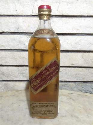 Johnnie Walker Red Label Special Old Highland Whiskey