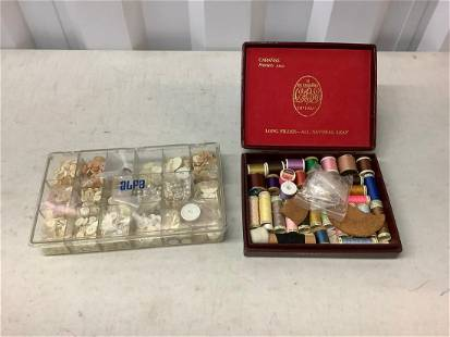 Lot of sewing supplies