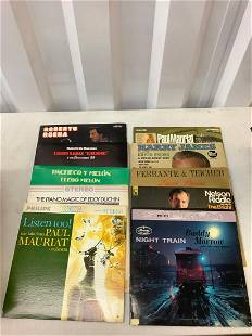 lot of vintage albums