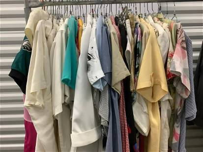 Large lot of womens clothes size medium to large