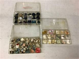 large lot of buttons