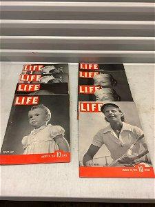 Lot of 1930's Life Magazines