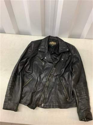 Garden's leather collection leather jacket