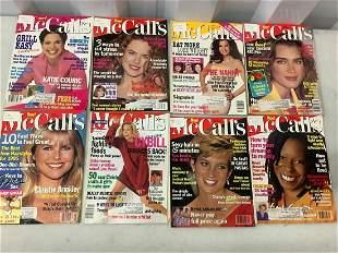 Lot of McCall's magazine 1990's