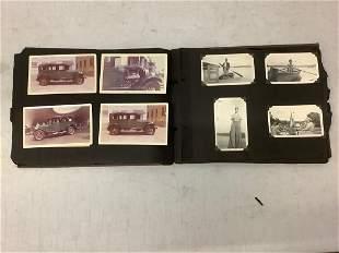 photo album full of early photps