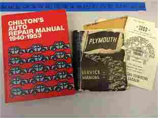 Chilton's and other car service manuals