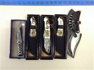 Lot of five knives