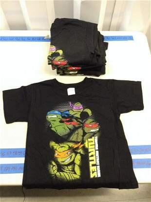 Lot of 10 boys small Teenage Mutant Ninja Turtle shirts
