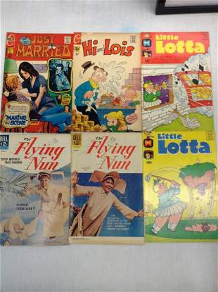 Lot of The Flying Nun, Harvey, and Other Comics