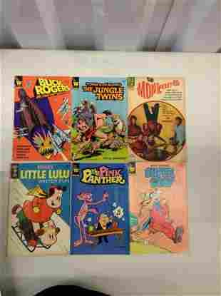 Lot of Whitman and Dell Comics