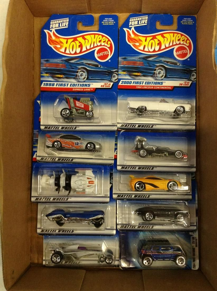 Lot of first edition hot wheels