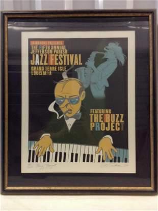 5th annual Jefferson Parish Jazz Festival print