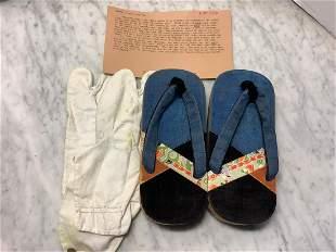 Newark Museum Sandal and Tabi