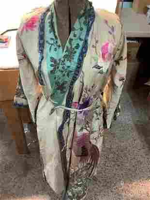 Newark Museum Embroidered Robe