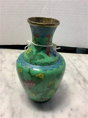 Newark Museum Cloisonne Vase