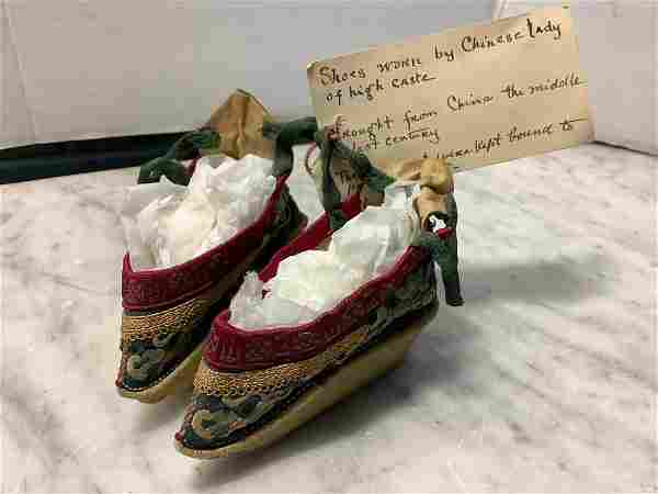Newark Museum Baby Shoes