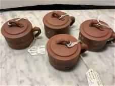 Newark Museum Four Tea Cups