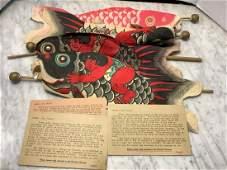 Newark Museum Four Fish Kites