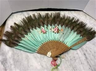 Newark Museum Peacock Feather Fan