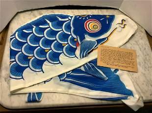 Newark Museum Fish Kite