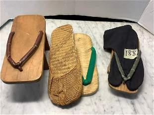 Newark Museum Lot of Four Sandals