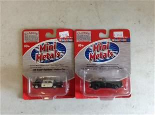 Lot of Mini Metals die cast models