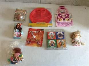 Lot of children's toys