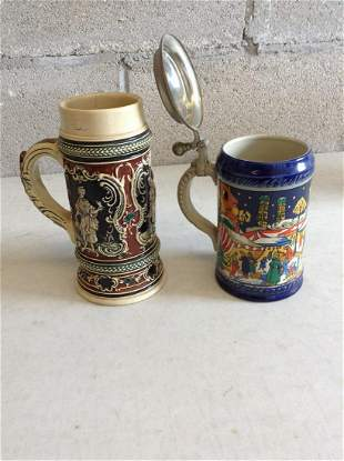 Second annual christmas beer stein No. 374 of 7500 made