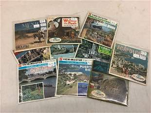 Lot of World Travel, Disney, and Other View-Masters