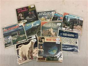 Lot of World Travel, Space, and Other View-Masters