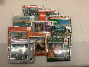 Lot of World Travel, Religious, and Other View-Masters