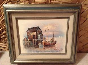 Original Oil Painting Signed by the Artist A. Sampson