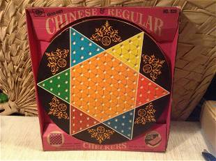 Vintage Ohio Art Chinese Checkers No 539 With Marbles