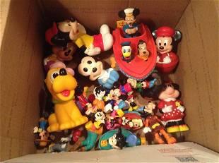 Box full of Vintage Disney Toys