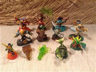 Large lot of Skylanders Activision Toys
