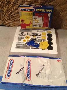 Meccano Erector Set and Power Tool Set NIB