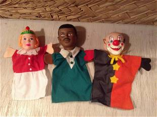 Lot of Hand Puppets