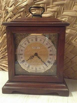 """Howard Miller Mantle Clock 14"""" tall Battery Operated"""