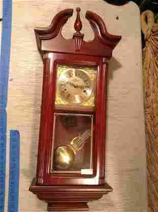 """D&A Wood Wall Clock 27"""" tall"""