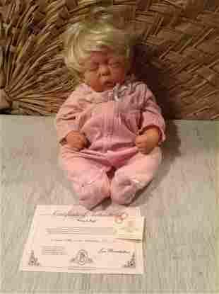 """Lee Middleton """"Hug a Bug"""" Baby Doll with COA"""
