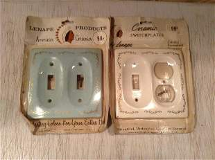 Lenape Products Ceramic Switch plates