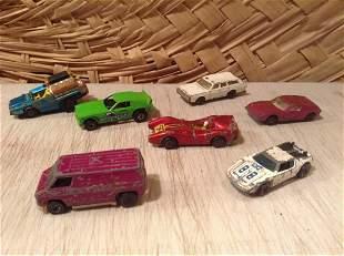 1969 Redline Hotwheels Warpath, Redline Van and 60s &